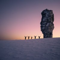 Утро на плато Маньпупунёр :: Владимир Кочкин
