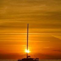 Рассвет на Карибах :: Олег Чемоданов