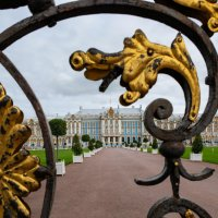 Царское село. Екатерининский дворец. Золотые ворота. :: Надежда Лаптева