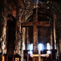 Монастырь Джвари..Грузия-Мцхета :: Юрий Яньков