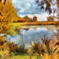 Осеннее озеро :: Наталья Ильина