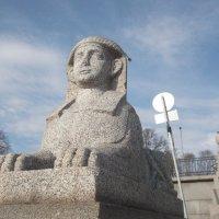 Скульптуры на Охте :: Svetlana Lyaxovich
