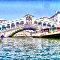 Венеция. Большой канал. Мост Риальто. :: Ирина Сивовол