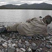 Чукотка, река Анадырь, фотограф Александр Коваль. :: Игорь Олегович Кравченко