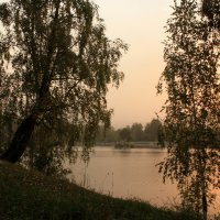 Солнышко над озером :: Галина Козлова