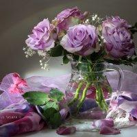 Сиреневые розы :: Татьяна Беляева