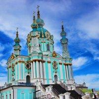 *Киев Андреевская церковь. :: vodonos241