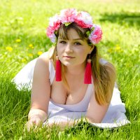 На солнечной лужайке :: Татьяна Евдокимова