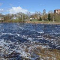 Великие Луки. Река Ловать. Мост-плотина... :: Владимир Павлов