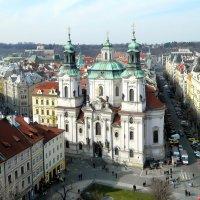 Вид на Прагу с Ратуши :: Алла Захарова