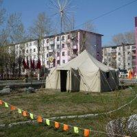 Палатка :: Олег Афанасьевич Сергеев