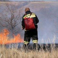 Огнеборцы в полях.. :: Андрей Заломленков