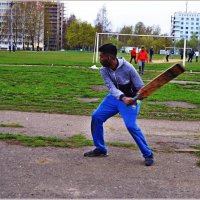 Готов к броску мяча! :: Vladimir Semenchukov