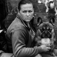 С собакой :: korgen