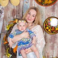 Бабушка и внучка :: Юлия Короткая