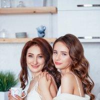Мама и доченька :: Татьяна Смирнова