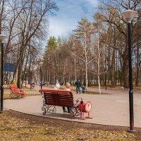 Апрель в парке :: Любовь Потеряхина