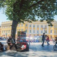 Многие бы хотели  родиться в Одессе,  но не всем это удается. :: Ольга сташевски