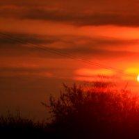 Солнце  Первомая   Снято сегодня в 5 утра :: олег свирский