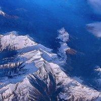 Пролетая над Альпами :: Vanda Kremer
