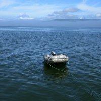 Лодка,океан,вулканы :: Ольга