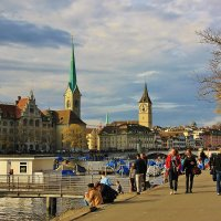 Осенний Цюрих :: Natali Positive