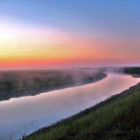 Рассвет на реке :: Владимир