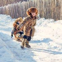 Зимние забавы :: Наталья Мячикова