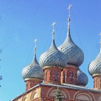 Купола Воскресенской церкви :: Галина Каюмова