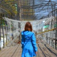 Мари долгая дорога в дюнах)) :: Роза Бара