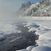 Река парит :: Валерий Михмель