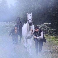 """Фотопроект """"Табор уходит в небо"""" Сцена кражи  коней. :: Анжелика Маркиза"""