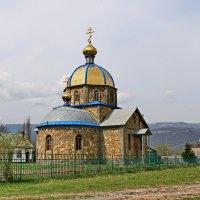 Храм в честь святых мучеников Гурия, Самона и Авива в Гузерипле. :: Ирина Нафаня