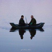 Двое в лодке... :: Elena Wise