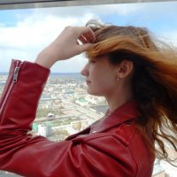 На башне Высоцкова :: Нина