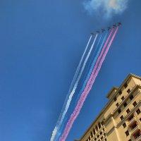 Триколор над Москвой :: Арина Невская