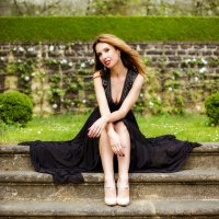 Lady in black :: Alena Kramarenko