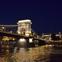 Мосты Будапешта. Цепной мост Сечени :: Татьяна Ларионова
