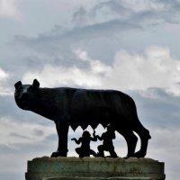 Капитолийская волчица – это главный символ Рима  .. :: backareva.irina Бакарева