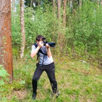 На фото охоте :: Валерий Шурмиль