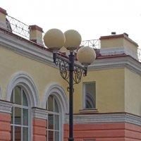 Вокзальный фонарь :: Галина Каюмова
