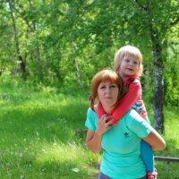 С мамой! :: Светлана Рябова-Шатунова