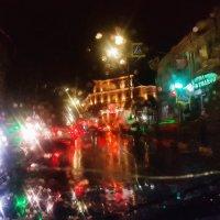дождливый уголок родного города... :: Батик Табуев
