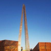 Обелиск боевой и трудовой славы в Чимкенте. :: Anna Gornostayeva