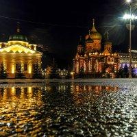 после дождя на центральной площади г. Тула :: Георгий