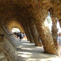 Барселона , парк Гуэль :: Lüdmila Bosova (infra-sound)