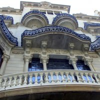 Барселона, Дом Лео Морера (Casa Lleó Morera) :: Lüdmila Bosova (infra-sound)
