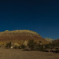 Горы Актау в лунном свете :: Dmitriy Sagurov
