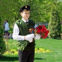 Ученик кадетского класса на посту :: Ирина Via