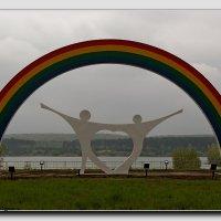 Радуга в скульптуре :: Сергей Щеблыкин